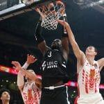 """Tonye Jekiri (ASVEL, 18 points et 19 rebonds): """"Nous n'avons pas joué un joli basket, mais une victoire est une victoire"""""""