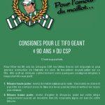 Vidéos: le tifo des Ultras Green pour le clasico Limoges-Pau