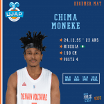 Concours de dunks All-Star Game LNB : Ronald Roberts remplacé par Chima Moneke