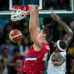 """Nikola Jokic (Serbie): """"Nous sommes l'une des meilleures équipes au monde et nous le montrerons très bientôt"""""""