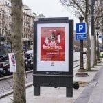 La photo: Le Paris Basketball fait sa promo dans toute la capitale pour le match à Paris-Bercy
