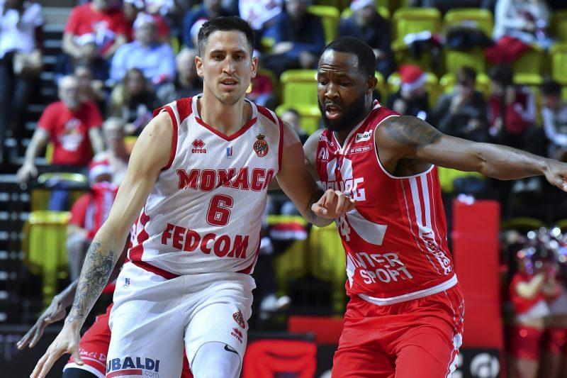 Demain, c'est le choc Monaco Villeurbanne   Basket Europe