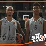 Vidéo – Shooting Challenge de l'Euroleague : Edwin Jackson vs Théo Maledon