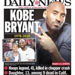 Kobe Bryant à la Une de la presse mondiale