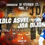 La finale de la Leaders Cup ASVEL-Dijon en clair sur rmcsport.fr et Facebook Live