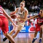 TQO Féminin: La France réalise une parfaite passe de trois face à Porto-Rico, 89-51