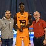 Espoirs: Mbaye Ndiaye (Bourg) élu MVP du camp LNB