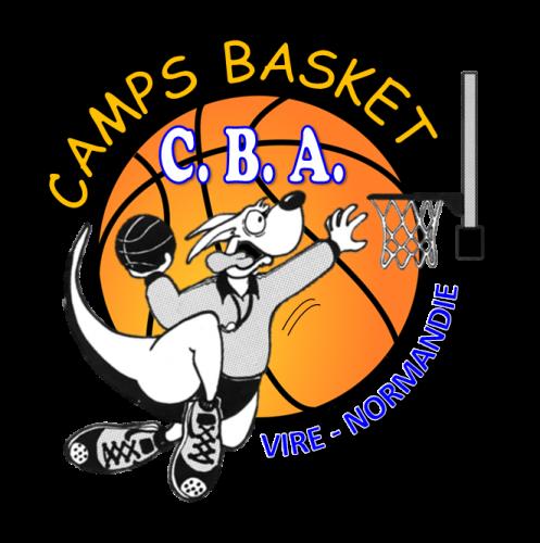 logo cba camps basket association été 2020 normandie