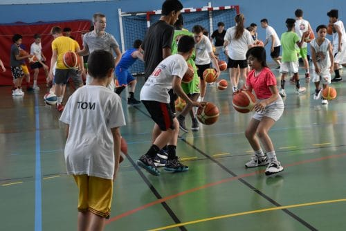 stage camps basket association  cba 2020 normandie