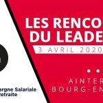 """Vincent Collet invité à la 4e édition des """"Rencontres du Leadership"""" organisées par la JL Bourg"""