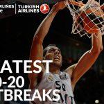 Vidéo: Les 20 plus beaux fastbreaks de la décennie d'Euroleague