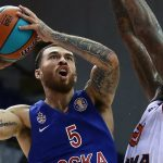 Mike James et le CSKA proches d'une prolongation