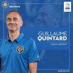 Guillaume Quintard devient assistant coach à la Chorale de Roanne
