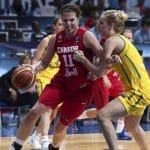 LFB: La Canadienne Katherine Plouffe est reconduite à Basket Landes