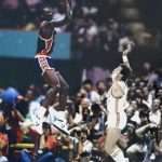 La photo: La détente de Michael Jordan aux JO de 1984