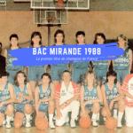 Vidéo rétro: Reportage sur le BAC Mirande, champion de France de 1988 à 1990