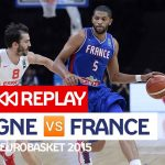 Replay by TCL: Revoir France-Espagne, demi-finale EuroBasket 2015