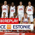 Vidéo: Revoir France-Estonie, Qualifications EuroBasket 2003