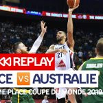 Replay by TCL: Revoir France-Australie, match pour la 3ème place de la Coupe du Monde 2019