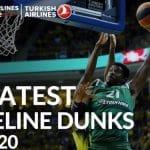 Vidéo: les 20 plus beaux dunks de la décennie d'Euroleague
