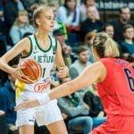 Féminines: Juste Jocyte (ASVEL) appelée pour un stage de l'équipe nationale lituanienne à la fin du mois