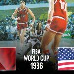 Replay by TCL : Revoir le match USA (David Robinson) – URSS (Arvidas Sabonis), finale du Championnat du Monde 1986