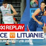 Replay by TCL : Revoir France-Lituanie, demi-finale EuroBasket U18 2009