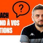 Vidéo: Le coach Elric Delord face aux questions des fans du Mans