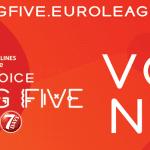 L'Euroleague et l'Eurocup font appel aux fans pour voter pour les Cinq de départ de la saison