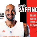 Pro B: L'intérieur allemand Justin Raffington dernière recrue de Denain