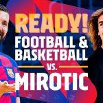 Vidéo: Antoine Griezmann et Nikola Mirotic se lancent un défi foot-basket
