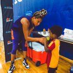 WNBA: Le fils de Bria Hartley est la coqueluche du Phoenix Mercury