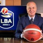 """Umberto Gandini (président LBA): """"venir jouer en Italie actuellement est certainement plus sûr que d'aller dans une autre ligue"""""""