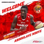 """Officiel, Abdou Ndoye à Monaco: """"Je suis venu pour sortir de ma zone de confort"""""""