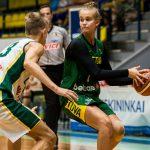 Lituanie: Les U16 garçons atomisent l'équipe A féminine. Juste Jocyte a joué contre son frère