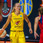 WNBA: Julie Allemand (Indiana Fever) dans l'équipe All-Rookie