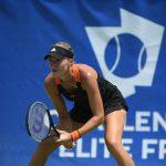 Vidéo: La tenniswoman Kristina Mladenovic a le sens du panier