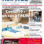 Le cas de Covid-19 à l'ALM Evreux fait la Une de Paris Normandie