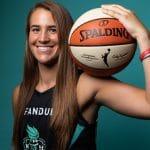 "WNBA – Sabrina Ionescu (New York Liberty): ""Être ici ressemble vraiment à une bulle"""