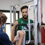 """Joffrey Lauvergne (Zalgiris Kaunas): """"je veux jouer là où le basket-ball est une grande passion"""""""