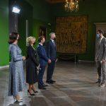 Joffrey Lauvergne invité au dîner de gala avec Emmanuel Macron et le président de la Lituanie