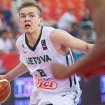 Lituanie: Arnas Velicka (Châlons-Reims) appelé en équipe nationale