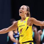 """Thibaut Petit (coach Lattes-Montpellier) à propos de Julie Allemand: """"Ce qu'elle a fait est tout simplement génial pour une petite belge"""""""