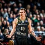 Cholet recrute l'ailier slovène Gregor Hrovat