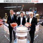 Le basket devient le sport co en club le plus télévisé en clair en France