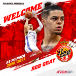 """Rob Gray: """"Monaco vise le titre et je veux aider au maximum la Roca Team dans ses objectifs élevés"""""""