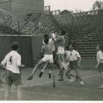 Photo rétro: Quand le basket se jouait à Roland-Garros