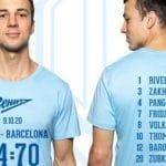 La photo: Le Zenit Saint-Petersbourg a lancé un T-Shirt pour commémorer sa victoire sur le Barça