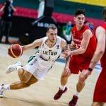 Qualifications EuroBasket 2022 : Le coach lituanien félicite Arnas Velicka (Champagne Basket)
