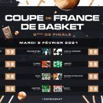 Tirage au sort 8e de finale Coupe de France: ASVEL-Bourg à l'affiche